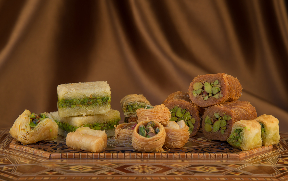 Whether you have a sweet-tooth or a hunger for delectable Arab dishes, you'll find reasons to celebrate these festive foods all year long.