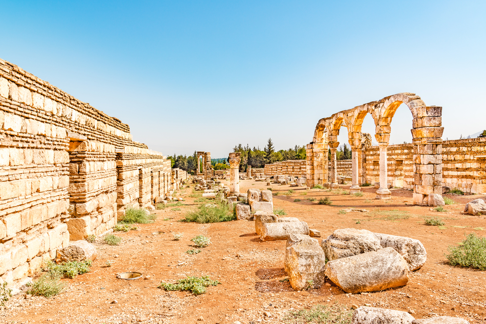 For a nice getaway from the hustle of Beirut, see why you have to visit Anjar. It stands as a testament to the Umayyad culture centuries later