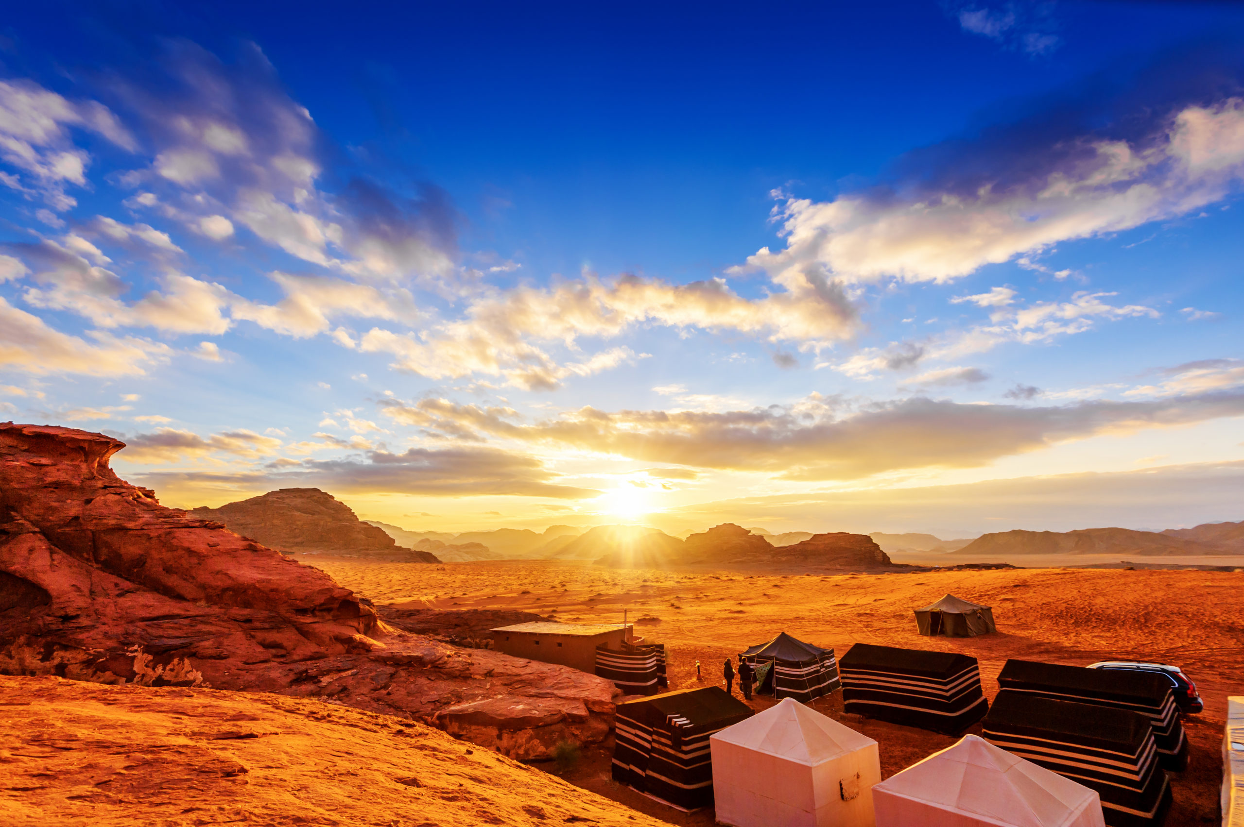 When it comes to the deserts of Jordan, Wadi Rum might be the most famous, but it's not the only beautiful desert you'll find in the kingdom.