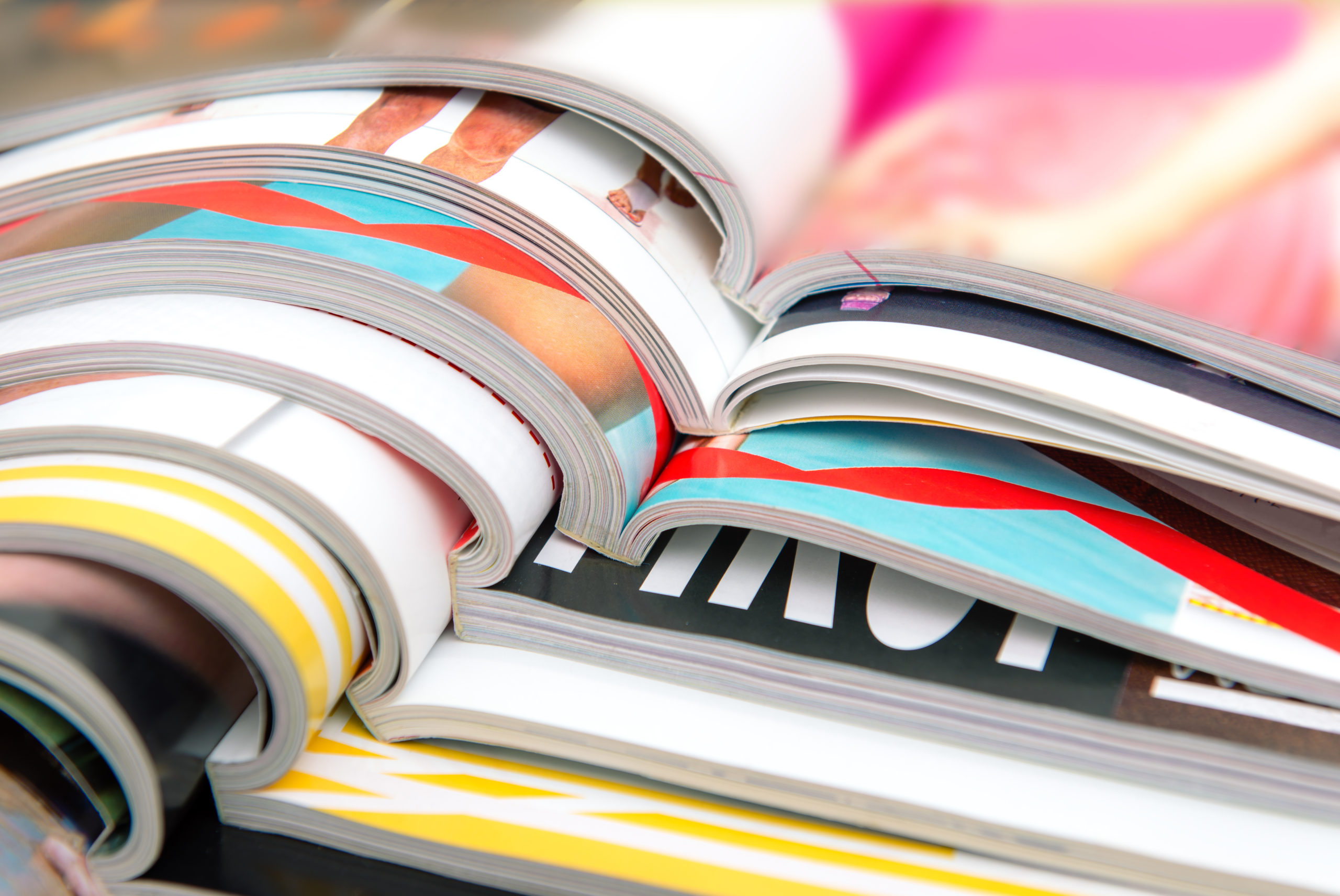 """The word """"magazine"""" comes from Arabic, which means """"warehouses"""". You'll find a warehouse of information about which Arabic magazines you can read"""