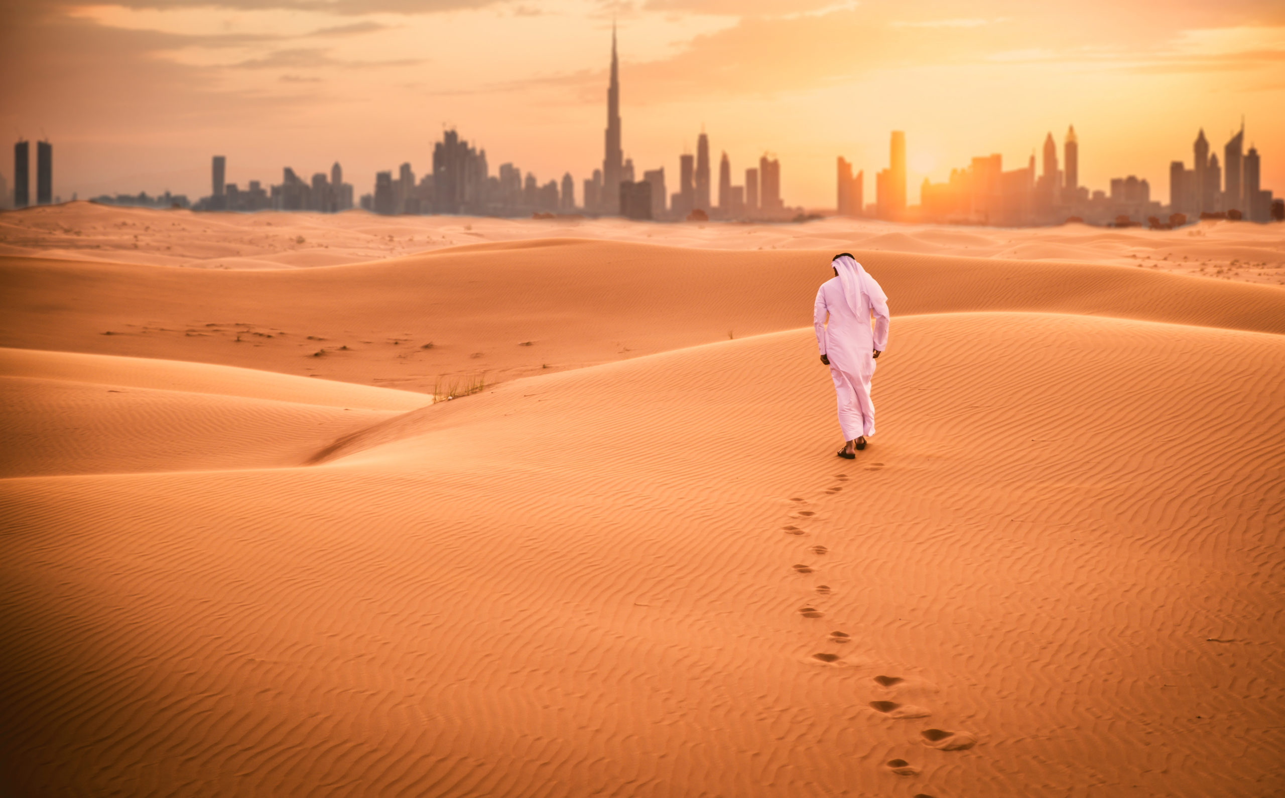 If your idea of a vacation is little sand and sea, read this article on how you can spend your next holiday in a desert in Middle East