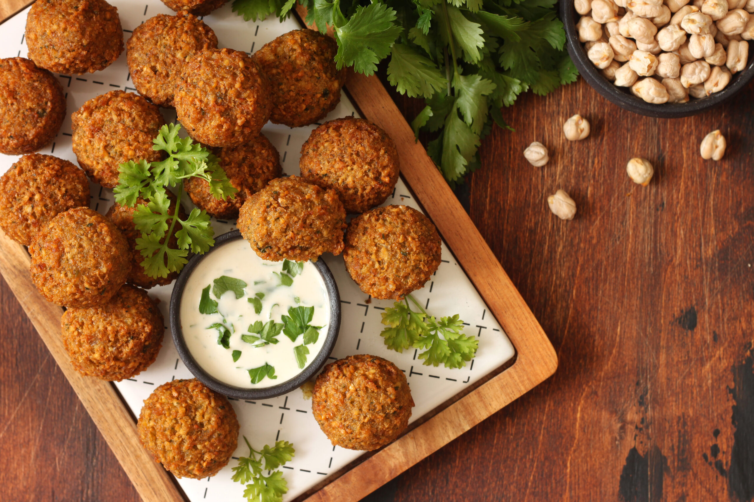 Craving some Middle Eastern cuisine, but not really sure how to make it? Start here with our very easy-to-make falafel recipe.