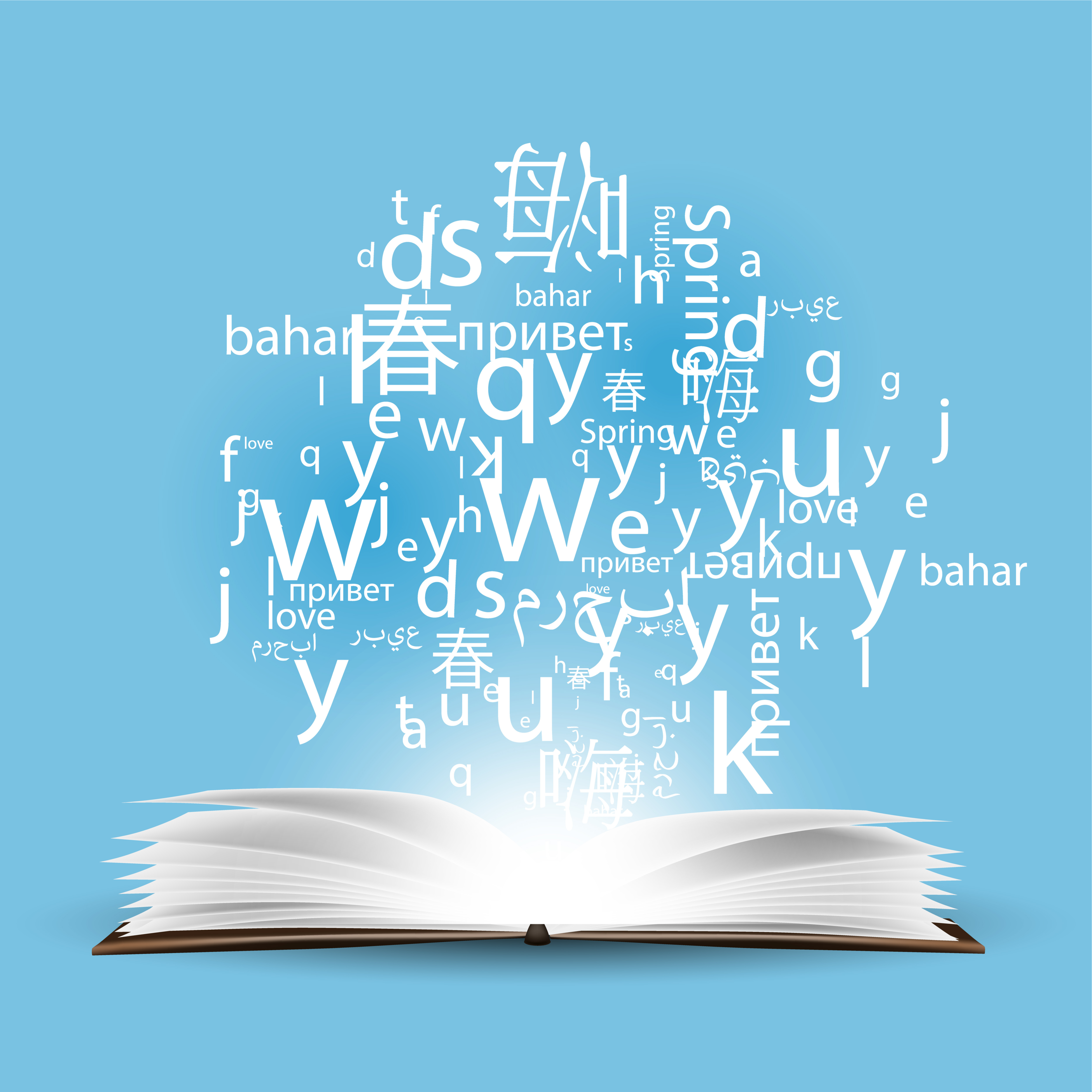 An Arabic dictionary will help you translate a few words. But communication in Arabic works differently. Click here for code-switching rules.