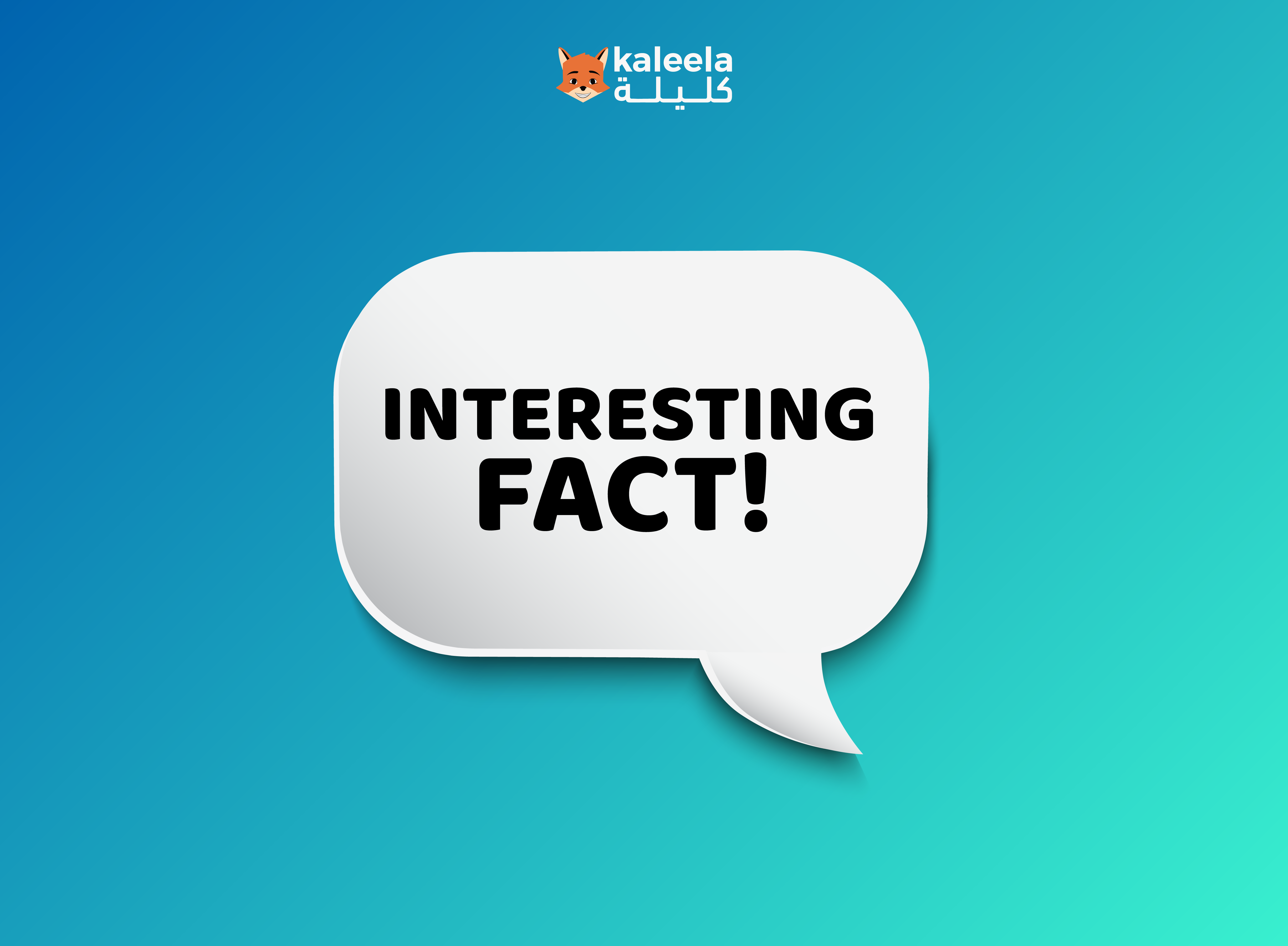 Read on for a few fun and Interesting Facts About the Arabic language that is sure to make you want to start learning Arabic with Kaleela!