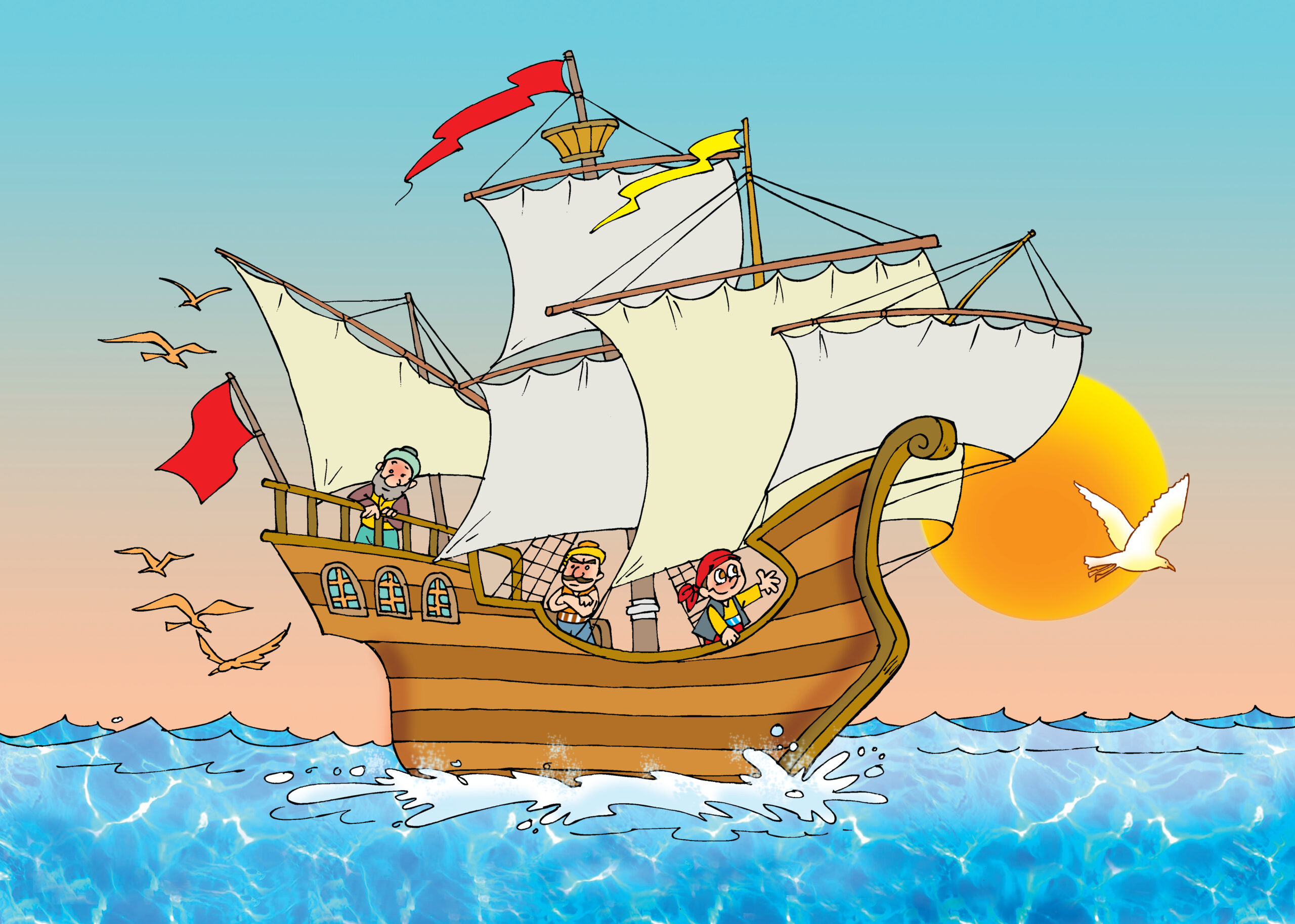 Want to know all about the fantastic Voyages of Sinbad the Sailor? Well, there are seven voyages of Sinbad. Click to find out.